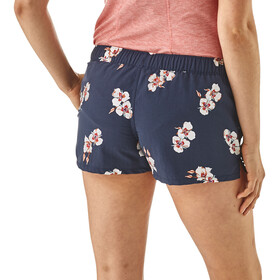 Patagonia W's Barely Baggies Shorts Mariposa Lily: Classic Navy
